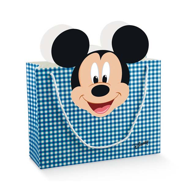Shopper Box c/cordini Mickey
