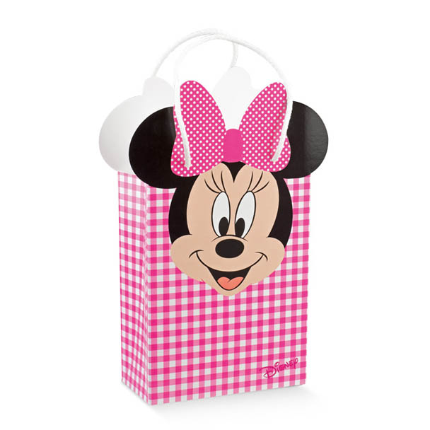 Shopper Box c/cordini Minnie