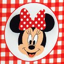Minnie's Party rosso