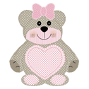 Teddy Bear Rosa